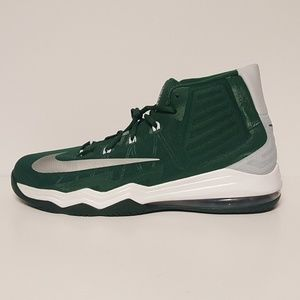 new styles c8d2a 41526 Nike Shoes - Nike Airmax Audacity Basketball Shoes Green Grey